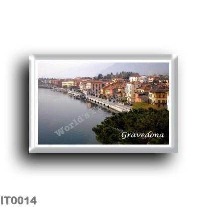 IT0014 Europe - Italy - Lombardy - Lake Como - Gravedona