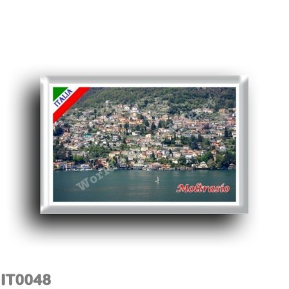 IT0048 Europe - Italy - Lombardy - Lake Como - Moltrasio (flag)