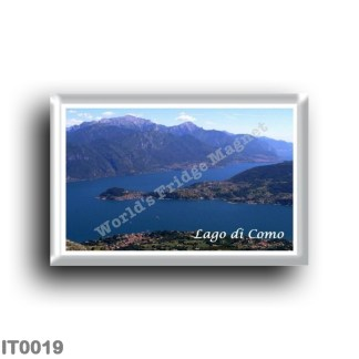 IT0019 Europe - Italy - Lombardy - Lake Como - Lake Como - Panorama