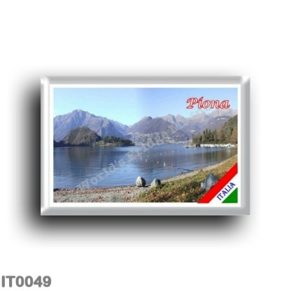 IT0049 Europe - Italy - Lombardy - Lake Como - Piona (flag)