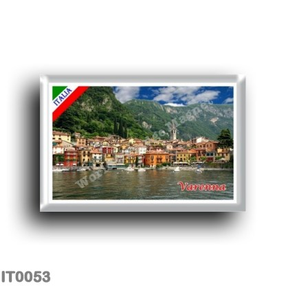 IT0053 Europe - Italy - Lombardy - Lake Como - Varenna (flag)