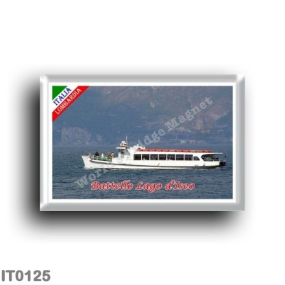 IT0125 Europe - Italy - Lombardy - Lake Iseo - Boat