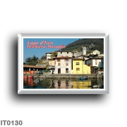IT0130 Europe - Italy - Lombardy - Lake Iseo - Peschiera Maraglio
