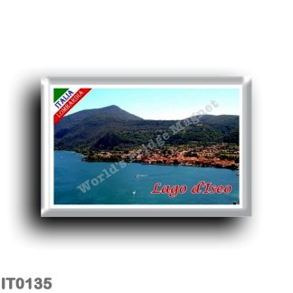 IT0135 Europe - Italy - Lombardy - Lake Iseo - Panorama