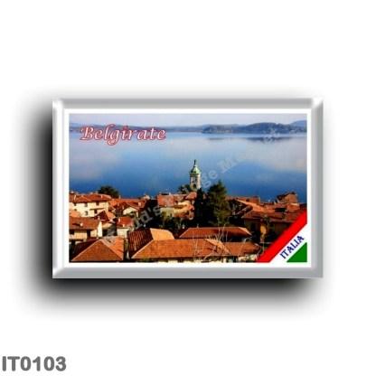 IT0103 Europe - Italy - Lake Maggiore - Belgrate - Panorama