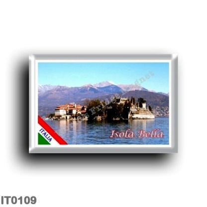 IT0109 Europe - Italy - Lake Maggiore - Isola Bella - Panorama