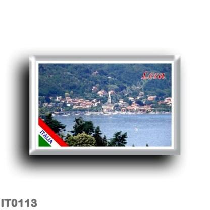 IT0113 Europe - Italy - Lake Maggiore - Lesa - Panorama