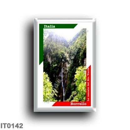 IT0142 Europe - Italy - Abruzzo - Borrello - Rio Verde waterfalls