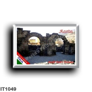 IT1049 Europe - Italy - Valle d'Aosta - Aosta - Arches of the Roman Theater