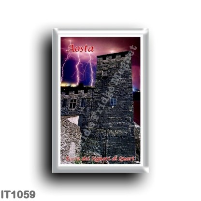 IT1059 Europe - Italy - Valle d'Aosta - Aosta - Tower of the Lords of Quart