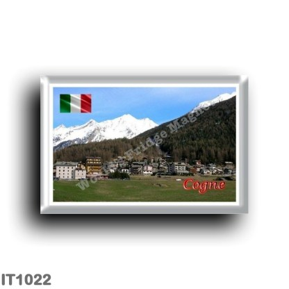 IT1022 Europe - Italy - Valle d'Aosta - Cogne - Panorama