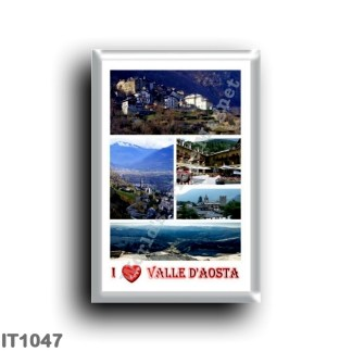 IT1047 Europe - Italy - Valle d'Aosta - I Love