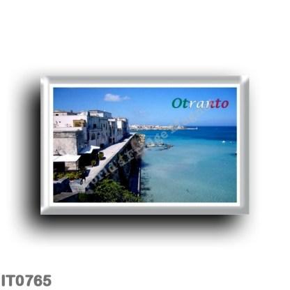IT0765 Europe - Italy - Puglia - Salento - Otranto from the Pelasgi bastion
