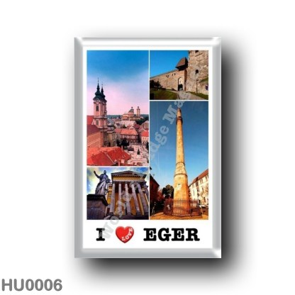 HU0006 Europe - Hungary - Eger - I Love