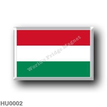 HU0002 Europe - Hungary - Hungarian flag