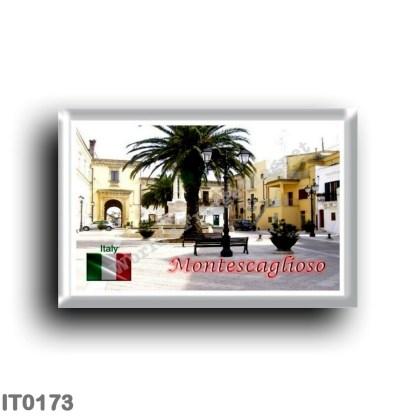 IT0173 Europe - Italy - Basilicata - Montescaglioso - Piazza del Popolo