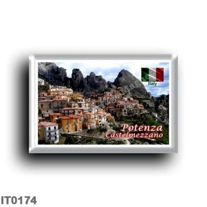 IT0174 Europe - Italy - Basilicata - Potenza - Castelmezzano Panorama