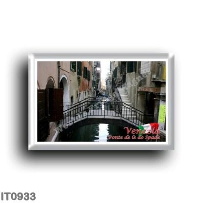 IT0933 Europe - Italy - Venice - Ponte de le do Spade