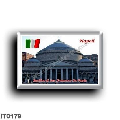 IT0179 Europe - Italy - Campania - Naples - Basilica San Francesco Da Paola
