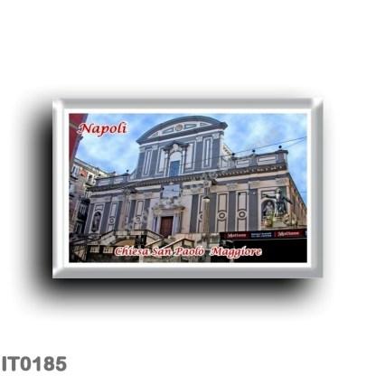 IT0185 Europe - Italy - Campania - Naples - San Paolo Maggiore Church