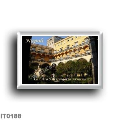 IT0188 Europe - Italy - Campania - Naples - San Gregorio Armeno Cloister