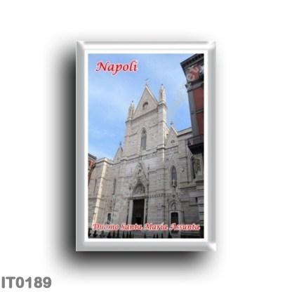 IT0189 Europe - Italy - Campania - Naples - Duomo Santa Maria Assunta