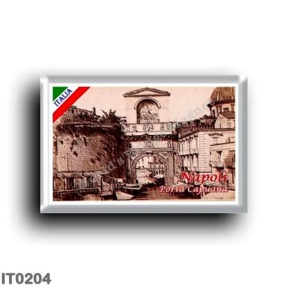IT0204 Europe - Italy - Campania - Naples - Porta Capuana
