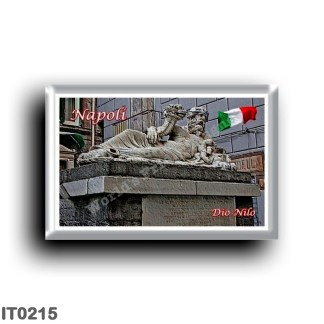 IT0215 Europe - Italy - Campania - Naples - Nile god statue