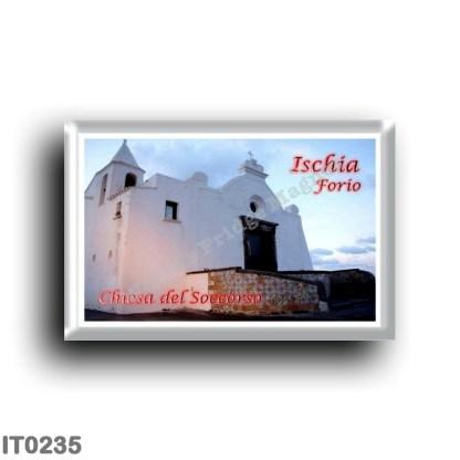 IT0235 Europe - Italy - Campania - Ischia Island - Forio - Relief Church