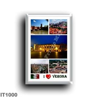 IT1000 Europe - Italy - Veneto - Verona - I Love