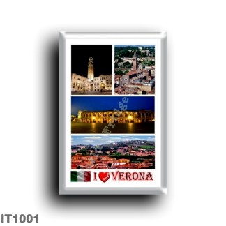 IT1001 Europe - Italy - Veneto - Verona - I Love