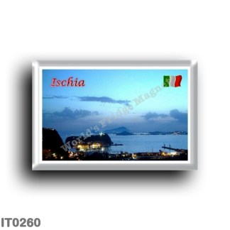IT0260 Europe - Italy - Campania - Ischia Island - View of Ischia from Posillipo