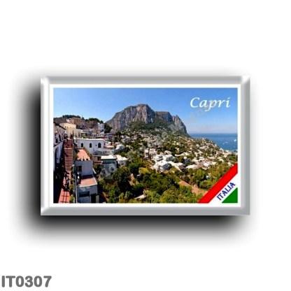 IT0307 Europe - Italy - Campania - Capri - Panorama
