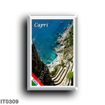 IT0309 Europe - Italy - Campania - Capri - Via del Mare