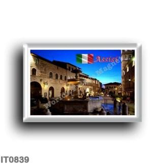 IT0839 Europe - Italy - Umbria - Assisi - Piazza del Comune