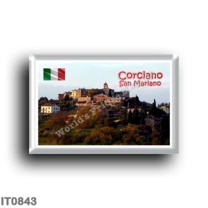 IT0843 Europe - Italy - Umbria - Corciano - San Mariano