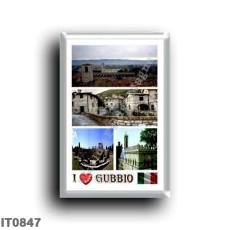 IT0847 Europe - Italy - Umbria - Gubbio - I Love