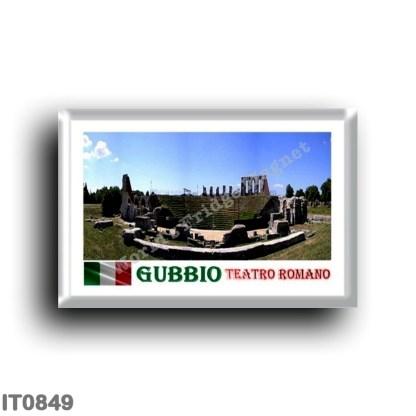 IT0849 Europe - Italy - Umbria - Gubbio - Roman Theater