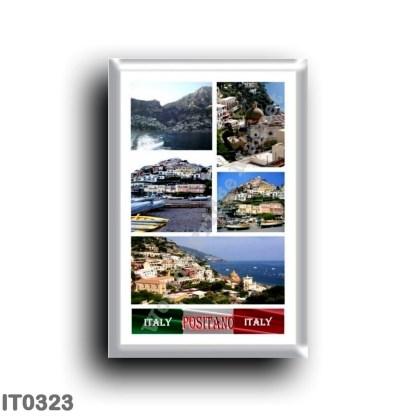 IT0323 Europe - Italy - Campania - Amalfi Coast - Positano I Love