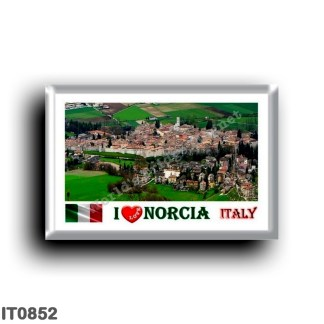 IT0852 Europe - Italy - Umbria - Norcia - I Love