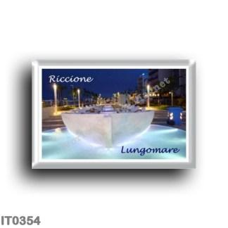IT0354 Europe - Italy - Emilia Romagna - Riccione - Lungomare