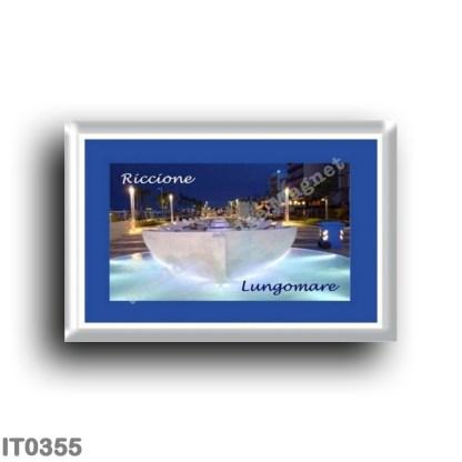 IT0355 Europe - Italy - Emilia Romagna - Riccione - Lungomare