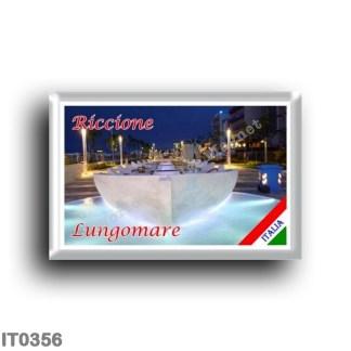 IT0356 Europe - Italy - Emilia Romagna - Riccione - Lungomare