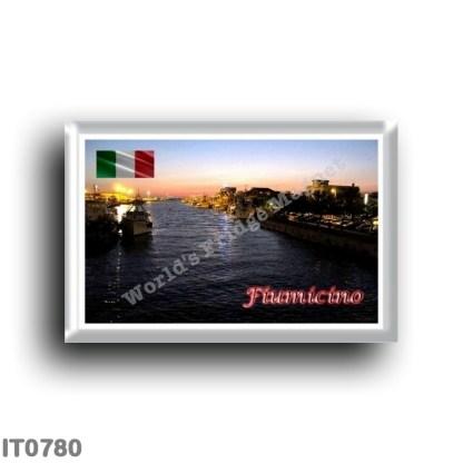 IT0780 Europe - Italy - Lazio - Fiumicino - outlet to the sea