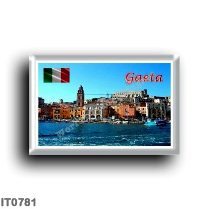 IT0781 Europe - Italy - Lazio - Gaeta Medioevale - View from the Sea