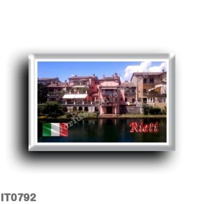 IT0792 Europe - Italy - Lazio - Rieti - Houses of the Rione S-Lucia