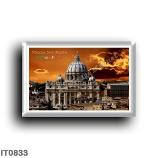 IT0833 Europe - Italy - Lazio - Rome - San Pietro - Basilica