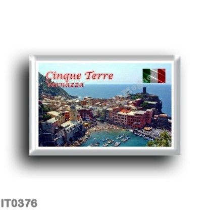 IT0376 Europe - Italy - Liguria - Cinque Terre - Vernazza