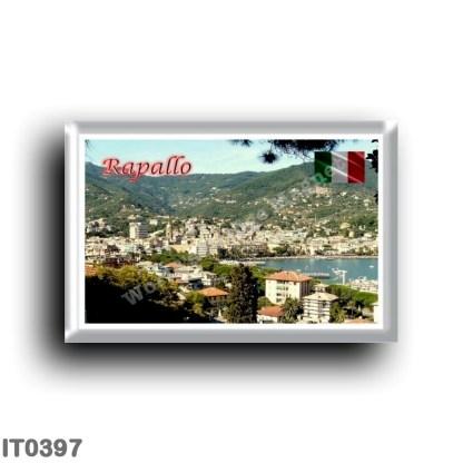 IT0397 Europe - Italy - Liguria - Rapallo - Panorama