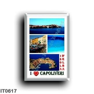 IT0617 Europe - Italy - Tuscany - Elba Island - Capoliveri - I Love